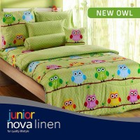 harga Perlengkapan Kamar Tidur Sprei Nova Linen Single Size 120 X 200 Type N Tokopedia.com