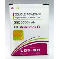 harga Baterai/Battery Double Power Logon Andromax G/c2/c2s/c3Si Tokopedia.com