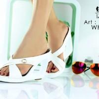 harga Wedges Import Sepatu sandal Pesta wanita Zara valentino Gucci LV C&K Tokopedia.com