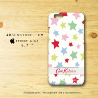 Cath Kidston Star iPhone Hard Case 4 4s 5 5s 5c 6 6s Plus