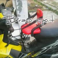 Kursi Bonceng Motor Bebek Bravo Sport Motif Polos (SNI)