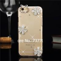 harga Luxury Bling Diamondcrystal Flower Cover Case For Iphone 6 4.7 Inch Tokopedia.com