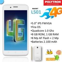 Polytron L501 Rocket 4G C1 Smartphone [Garansi Resmi]