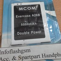 Baterai Battery Batere Mcom Evercoss A26b