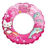 ban renang anak bulat hello kitty intex swim ring pelampung float kids