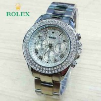 ROLEX BALOK SILVER COVER SILVER BLING-BLING
