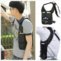 Tas eksklusif Mancing Mania Hidden underarm shoulder bag Army & Hitam
