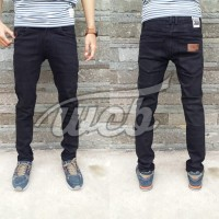 Celana Jeans April Skinny Black Size 28-34