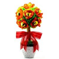 Jual Valentine Chocolate Bouquet / Buket Bunga Coklat / Cokelat Murah