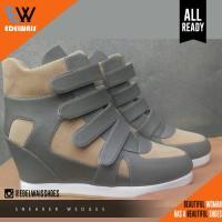 Jual sneaker wedges sepatu wanita nike adidas platform heels Murah