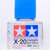 Tamiya X20 Enamel Thinner 40ml - Gundam model kit paint
