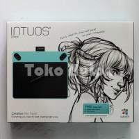 Jual Wacom Intuos Draw CTL490 Biru Pen Tablet Alat Desain Grafis Murah