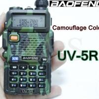 Jual Promo Bonus Headset HT BAOFENG UV5R UV-V5R  Radio army loreng Murah
