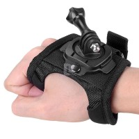 harga Rotating 360 Degree Glove Hand Strap Band for GoPro, Xiaomi Yi & SJCAM Tokopedia.com