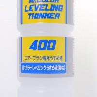 Mr color T-108 Levelling Thinner 400 ml - cat Gundam model kit thinner