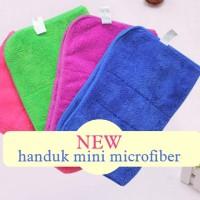 Handuk Mikrofiber Mini / Sapu Tangan Kecil / Mini Towel 30 X40 Cm