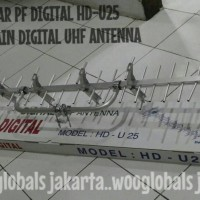 ANTENA LUAR PF DIGITAL HD-U25 SUPER HIGH GAIN DIGITAL UHF ANTENNA