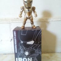 Action Figure Iron Man- Mini Egg (Mark Xxi Midas)