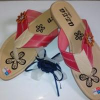 Sandal Flat Wanita FW28 (Grosir Sendal Heels / Jepit / Gunung / Flip Murah)