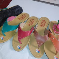 Sandal Flat Wanita FW24 (Grosir Sendal Heels / Jepit / Gunung / Flip Murah)