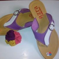 Sandal Flat Wanita FW25 (Grosir Sendal Heels / Jepit / Gunung / Flip Murah)