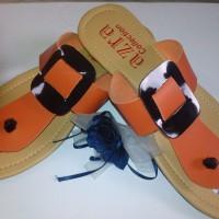 Sandal Flat Wanita FW26 (Grosir Sendal Heels / Jepit / Gunung / Flip Murah)