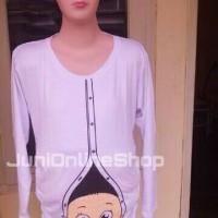 harga Baju Hamil Unik Kaos Lucu Maternity T Shirt Putih Baby Karakter Tokopedia.com