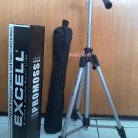 Tripod Excell Promoss Silver  for Kamera SLR/DSLR/Pocket/Prosumer