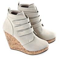 harga sepatu boots wanita modis gaya pesta kerja /sepatu boot cewek murah Tokopedia.com