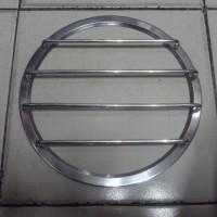 harga Grill Subwoofer 10 inch palang 4 Chrome Tokopedia.com