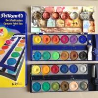 Pelikan Opaque Paint Box 24 Colours