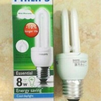 lampu philips essential 8w