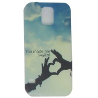 Painting Phone Plastic Case  Samsung Galaxy S4 - C47 Pelindung iPhone