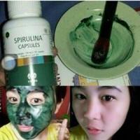 Masker Herbal Masker Wajah Pemutih Wajah Obat Pemutih Masker Spirulina