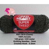 Benang Rajut Red Heart Super Tweed - Camo