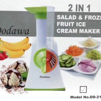 Pengiris sayuran dan Pembuat Es Krim Buah Dodawa DD-2115