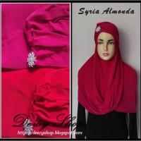 Jilbab Syria Turban Almonda