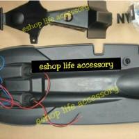 Aksesoris selancar undertail stoplamp+sein+spakbor Old Vixion lama