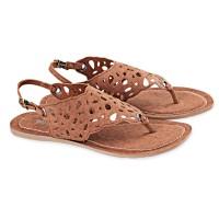Sandal Flat Wanita Gaya Trendi / Sendal Kulit Wanita / Sandal Perempuan