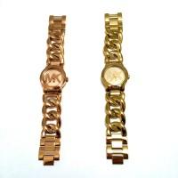 Jam Tangan Pria Wanita Original Michael Kors MK 3386 Gold