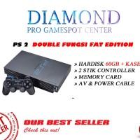 harga Ps2/ps 2 Fat Double Fungsi (kaset + 60 Gb Hd Full Games) Tokopedia.com