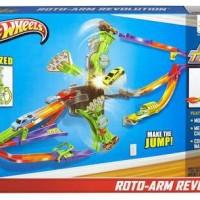 harga Hot Wheels Wall Track Roto Arm Revolution Tokopedia.com
