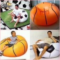 kursi sofa tiup angin udara bola sepak kaki soccer basket ball bestway