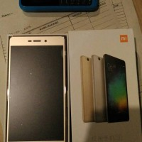 Xiaomi Redmi 3 Gold Second 1hari