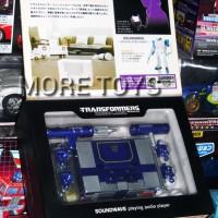 Soundwave G1 Spark Blue Transformers Music Label Takara Tomy
