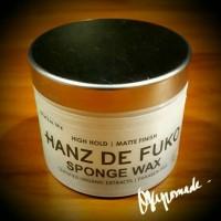 Hanz de Fuko Sponge Wax Waterbased Pomade