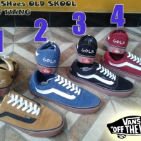 SEPATU VANS OLD SKOOL GOLF WANG GRADE ORIGINAL + BOX