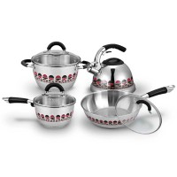Ox-99 Motive Cookware Set Oxone 8+2pcs