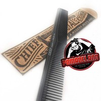 Sisir Karbon Chief/ Chief Official Carbon Comb/ Sisir Pomade