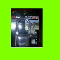 Gembok Alarm Kinbar / Gembok Kunci Security Motor